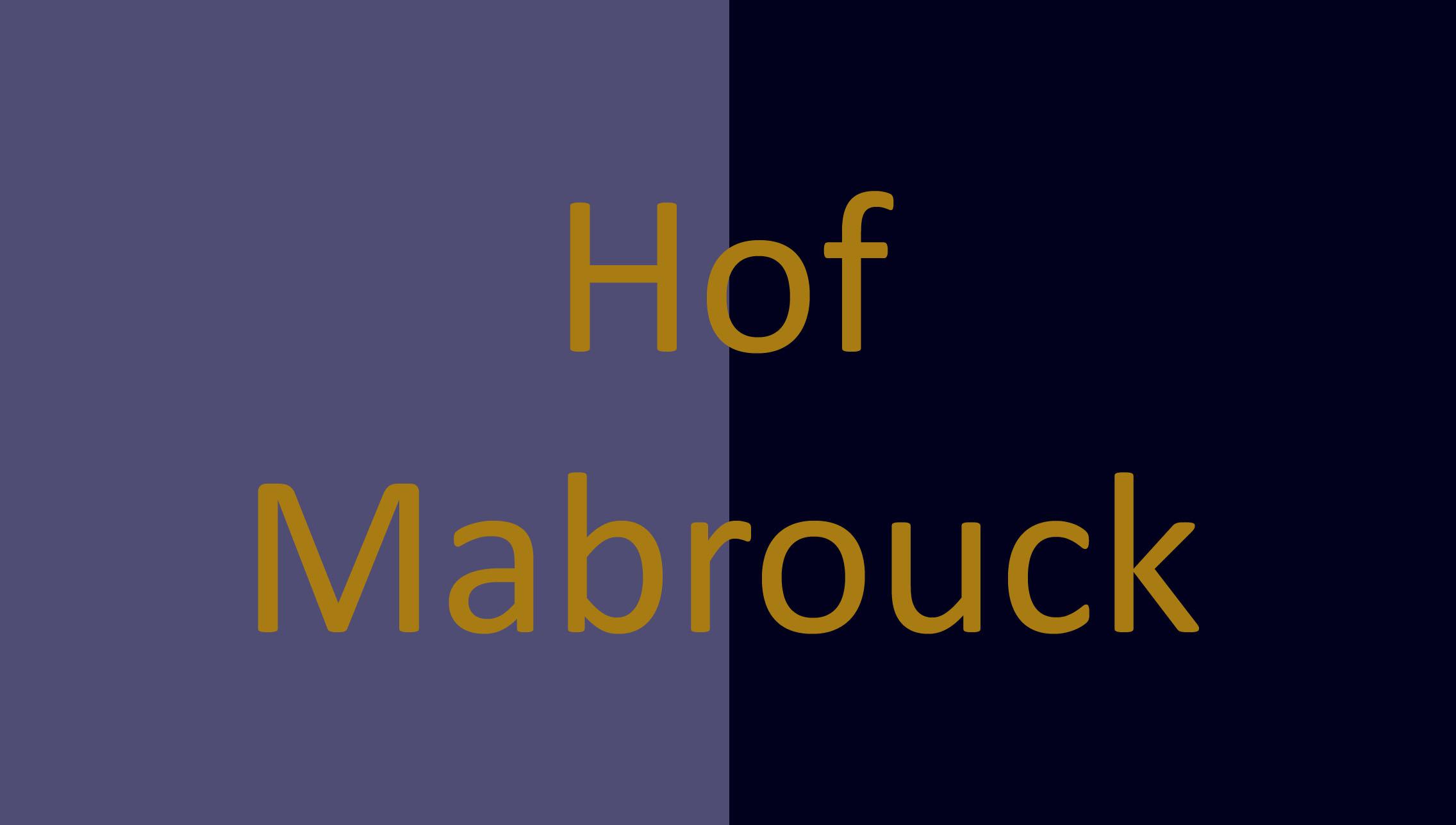 Hof Mabrouck